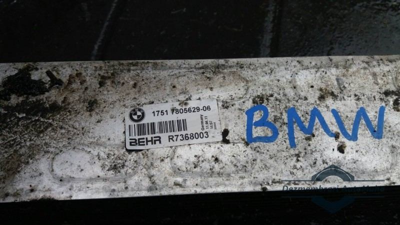 Radiator intercooler 13694394 BMW 1751780562906